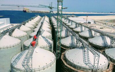New 300.000t rice storage plant in Qatar