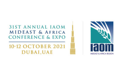 Visit us at IAOM MEA in Booth C05